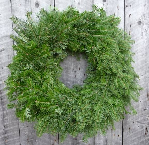 "22"" Undecorated Balsam Wreaths - Box of 5-0"